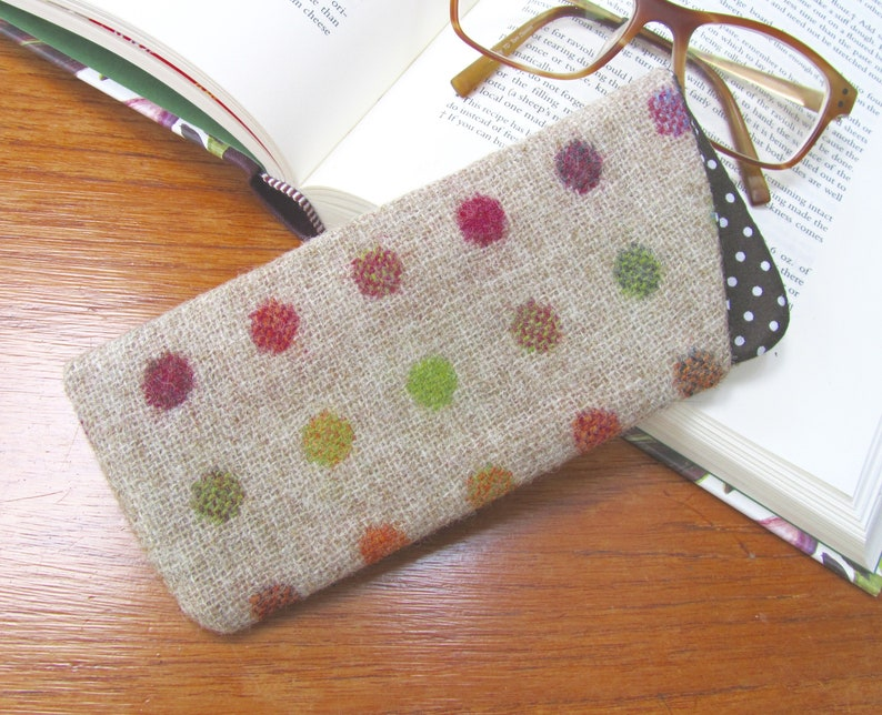 0ab657f6127f Glasses case spectacles sleeve sunglasses cover British