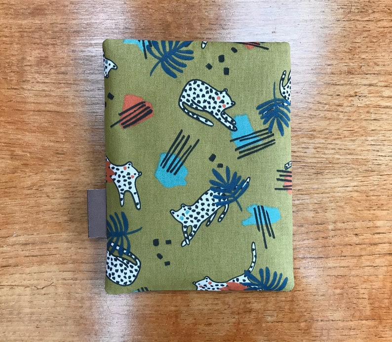 Nook cover case with leopards Kindle paperwhite cover Kobo kindle voyage sleeve 6 Fire HD
