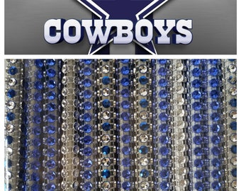 fb6c326a4 Dallas Cowboys Rhinestone Bling Cake Pop Sticks 13 pk