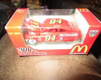 McDonald's Nascar 50th Anniversary Collectible Ford Car #94