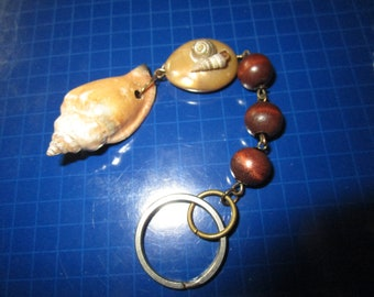 Shells & Beads Key Ring / Key Holder / Key Chain