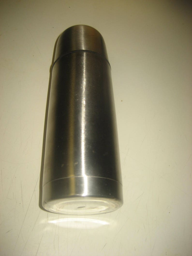 Stainless Steel 8 Inch Tall Thermos Bottle