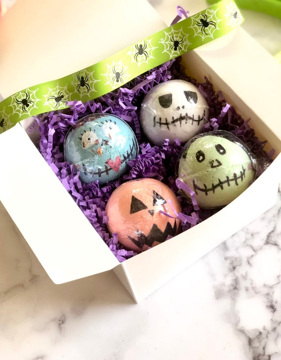 Halloween Gift For Kids Spooky Gifts Bath Bomb Gift Set Etsy