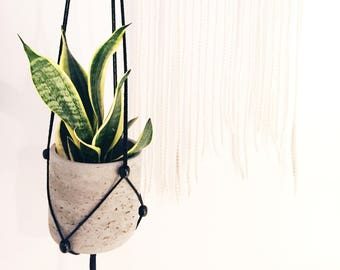 Modern |Adjustable| Macrame Plant Hanger