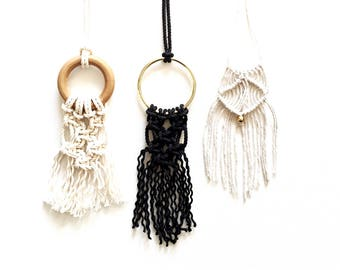 DIY Macrame Necklace Kit