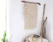 "Modern Macrame Wall Hanging| ""Party on the side"""