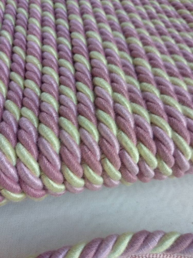 Pink green purple Cord With Lip|8mm flanged piping cord|Upholstery Cord with lip,Cushion Embellishment Cord,