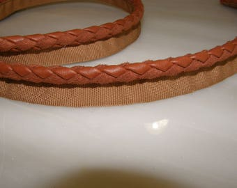 Leather Piping Flanged Cord 9-10mm Braid Flanged Cord Upholstery
