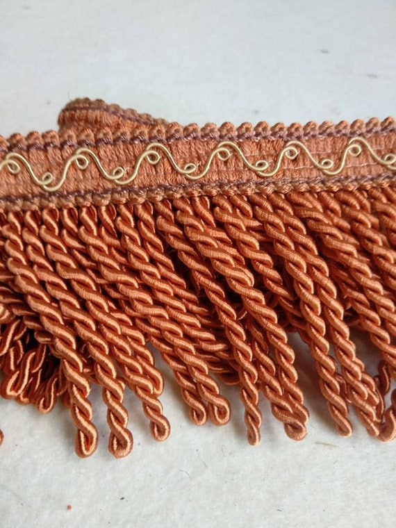 Orange Bullion Fringe