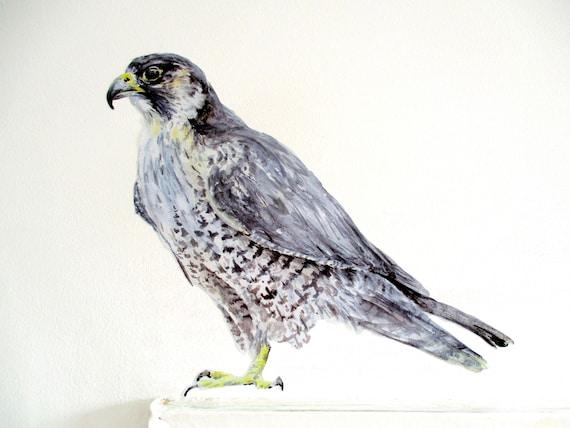 Wanderfalke Vogeldekor Vogel Aufkleber Beute Kabine Dekor | Etsy