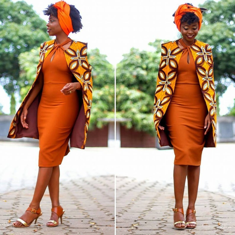 African Cape Jacket image 0