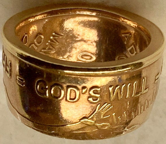 God's Will, Daily Reprieve, Freedom Recovery Ring