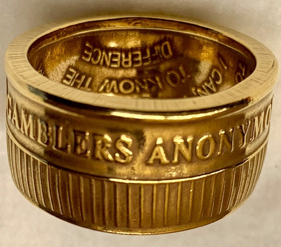 Gamblers Anonymous Recovery Ring