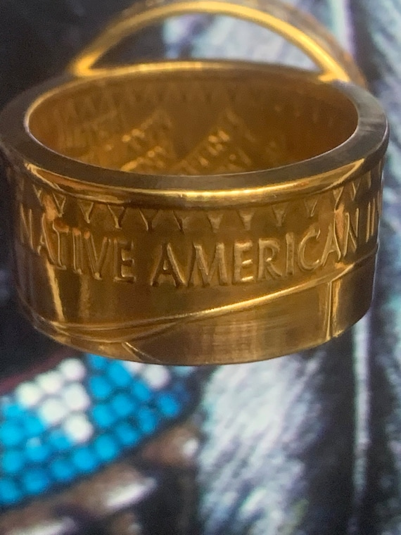 Native American in Recovery Ring