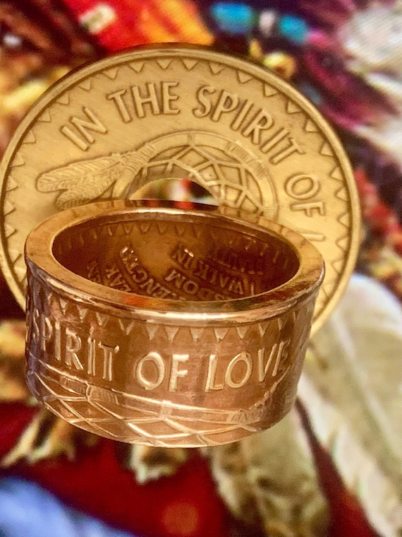 Native, In the Spirit of Love Recovery Ring