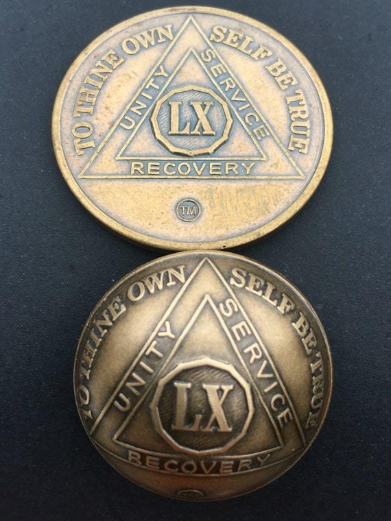 3D Sobriety Medallion Magnets