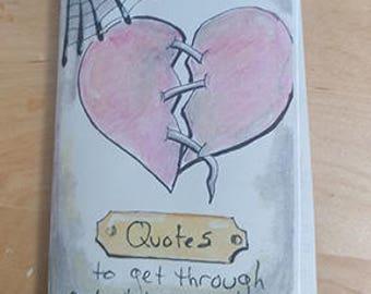 Zine - Quotes to get you through a bad break-up | Mini-Zine