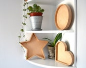 Hollow Wooden shapes UK - MDF shapes - Fillable shapes - Wall shapes - Freestanding - 18mm - Wedding Letters