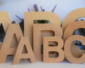 Wooden Letters UK - MDF Letters - Wall Letters - Freestanding - 18mm - Wedding Letters