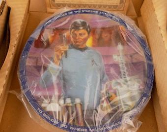 "STAR TREK Collector Plate -""Dr. McCoy"" - Hamilton Collection -1983"