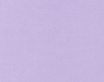 Light Lilac Purple Solid Cotton Fabric by the Yard by Riley Blake Designs, Quilters Material by the Yard