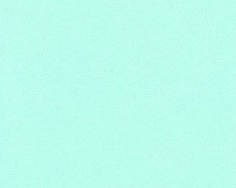 Mint Green Flannel Fabric by the Yard by Robert Kaufman, Sewing Quilt Fabric