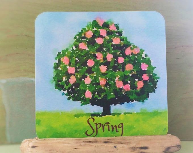 Waldorf season cards, perpetual calendar art