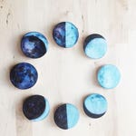 moon magnets, hand crafted, Editors' Pick