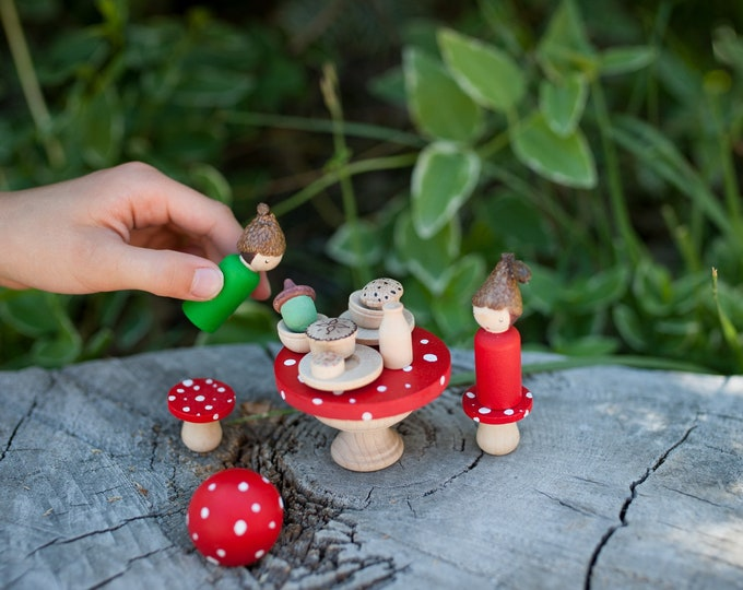 Enchanted Fairy garden table set