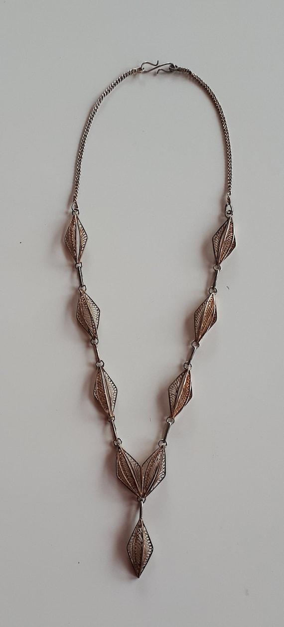 OOAK Jewelry Set Elegant Turquoise Hand Knitted Necklace Bracelet Set Handmade Textile Jewelry Set