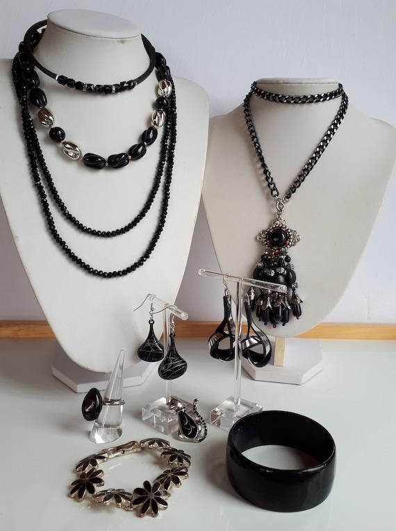 Destash black Bohemian Jewelry Lot Vintage to Now