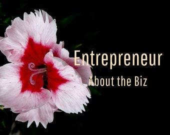 Website Copy Writing, Entrepreneur Business Description, Small Business Writer, Writing Services, Marketing Help, Website Content Writer