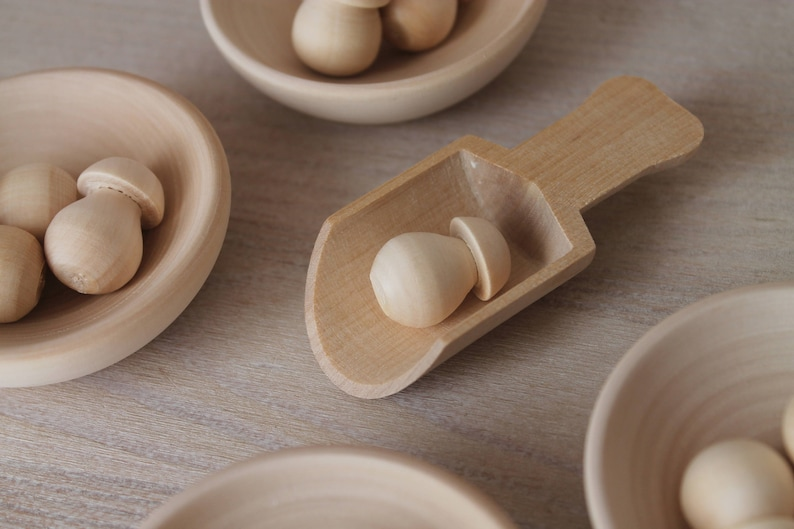 Sorter Mushroomsbowls Toys Toys & Games tiosdurvis.lv