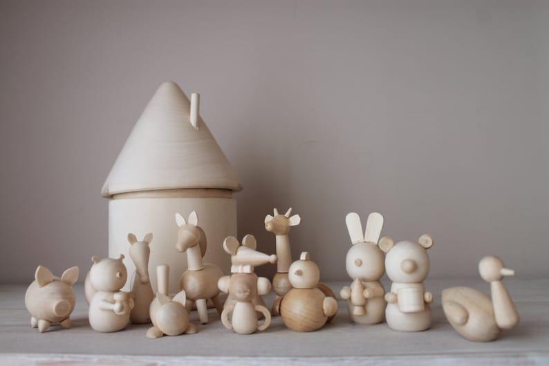 Montessori baby toys  Animals image 0