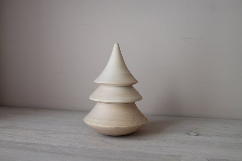 Musical wooden  Christmas tree rocking