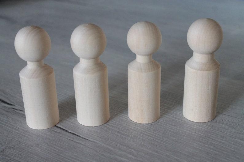 9 cm Peg Dolls