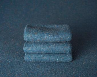 Sea glass Blue Speckled Neutral Texture Newborn Posing Fabric, Newborn Backdrop, Fabric backdrop, Posing Fabric, Sea Glass Blue Bean Bag