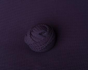 Eggplant Newborn Waffle Texture Grid Wrap Posing Fabric Set Newborn Photo Prop/ Newborn Fringe Knit Wrap/ Purple Stretch Wrap/ Grid Wrap