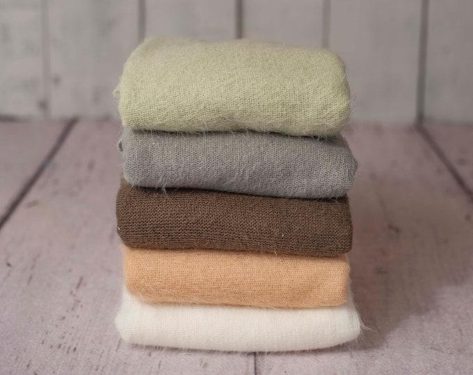 Downy Soft Woolly Beanbag Posing Fabrics, Fuzzy Backdrop, Soft Halo Fuzzy Backdrop, Organic Soft Backdrop, Newborn Soft Backdrop Fabric