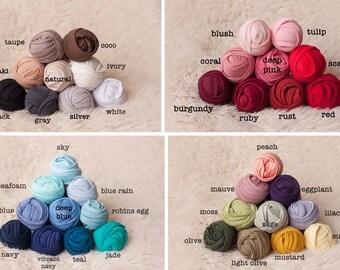PICK YOUR BUNDLE - Newborn Photography Stretch Knit Jersey Wrap Photo Prop Bundle