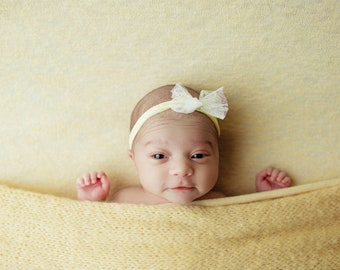 Sunny Yellow Newborn Posing Fabric, Newborn Blanket, Posing Fabric, Yellow Newborn Backdrop, Fabric backdrop, Posing Fabric, Yellow Bean Bag