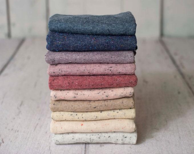 Speckle Textured Newborn Sweater Stretch Knit Wrap, Newborn Texture Wrap, Stretch Knit Wrap , Newborn Photo Props, Newborn Wrap, Newborn
