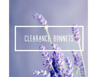 Clearance Pinks and Purples Newborn Bonnet Grid Texture Knit Bonnet Hat, Newborn Photo Props, Newborn Photo