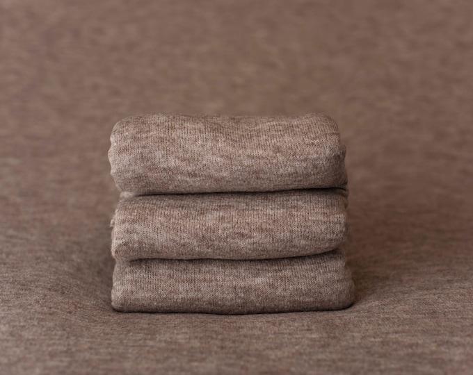 Acorn Brown Marbled Texture Newborn Posing Photography Fabric, Newborn Backdrop, Posing Fabric, Brown Beanbag, Brown Newborn Fabric