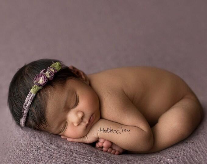 Lavender Purple Speckled Neutral Texture Newborn Posing Fabric, Newborn Backdrop, Fabric backdrop, Posing Fabric, Purple Bean Bag