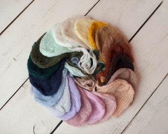 Mohair Newborn Bonnets/ Clearance