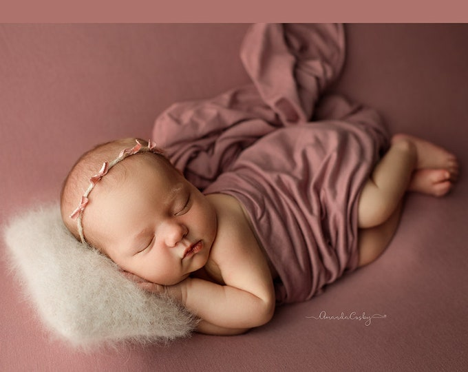 Mauve Newborn Posing Fabric, Newborn Blanket, Posing Fabric, Newborn Backdrop, Fabric backdrop, Posing Fabric, Bean Bag Blanket, Bean Bag
