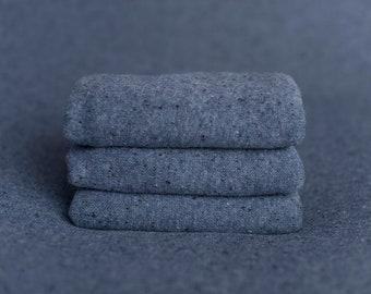 Ocean Blue Speckle Texture Newborn Posing Fabric, Newborn Backdrop, Fabric backdrop, Posing Fabric, Blue Bean Bag
