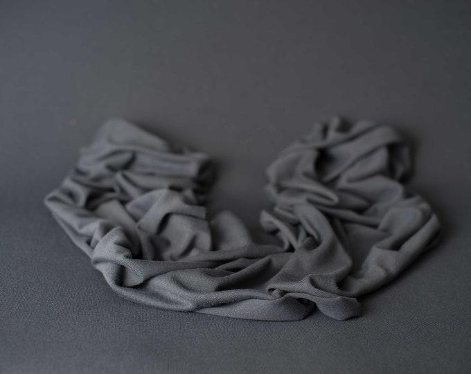 Dark Steel Gray Newborn Beanbag Fabric, Gray Newborn Photo Prop, Newborn Photography Beanbag Cover, Beanbag Fabric, Gray Newborn Photo Prop