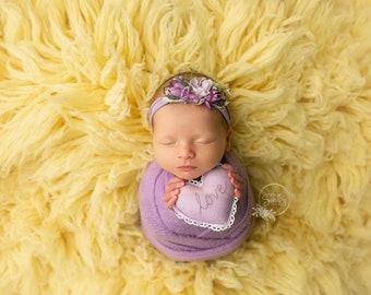 Lavender Purple Stretch Sweater Wrap Photography Photo Prop, Lavender Purple Sweater Wrap, Newborn Wrap, Newborn Wrap, Newborn Prop